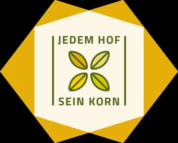 Logo Jedem Hof sein Korn